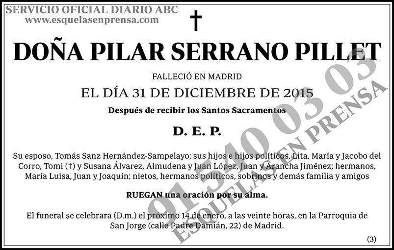 Pilar Serrano Pillet